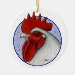 Orpington Head Circle Ornaments