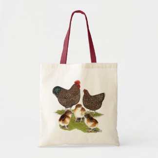Orpington Jubilee Chicken Family Budget Tote Bag