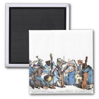 Orquesta animal imanes de nevera