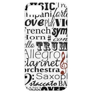 Orquesta de la música iPhone 5 Case-Mate cárcasa