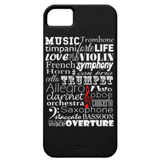 Orquesta de la música iPhone 5 Case-Mate carcasa