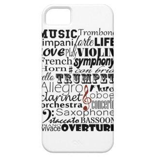 Orquesta de la música iPhone 5 coberturas