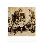 Orquesta de los niños pequeños - vintage Stereovie Tarjeta Postal
