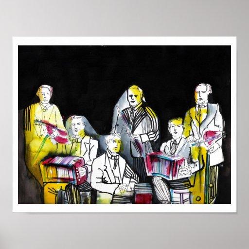Orquesta del tango póster
