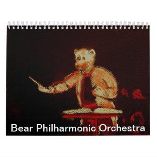 Orquesta filarmónica del oso calendarios