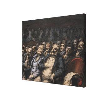 Orquesta Seat, c.1856 Impresiones En Lona Estiradas