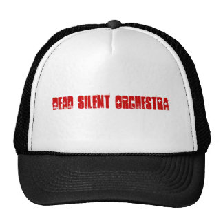 Orquesta silenciosa muerta gorras de camionero