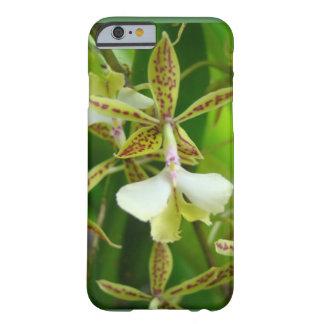 Orquid amarillo funda de iPhone 6 barely there