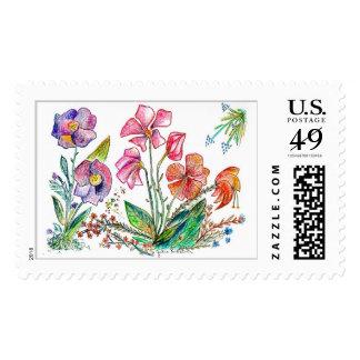 Orquídea 15a sellos