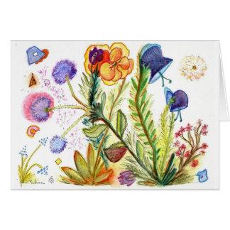 Orquídea 20 tarjeta de felicitación