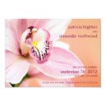 Orquídea • Ahorre la invitación de la fecha
