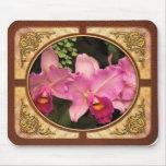 Orquídea - Cattleya - esplendor magenta Tapetes De Ratones