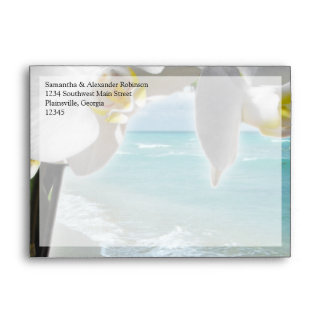 Orquídea de la playa de la aguamarina