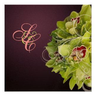 Orquídea de PixDezines + Flourish ornamental Comunicado