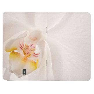 Orquídea de polilla del Phalaenopsis Cuaderno Grapado