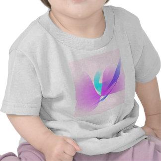 Orquídea de polilla camisetas