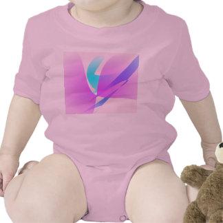Orquídea de polilla traje de bebé