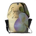 Orquídea de Sogni D'oro (sueños dulces) Bolsa De Mensajería