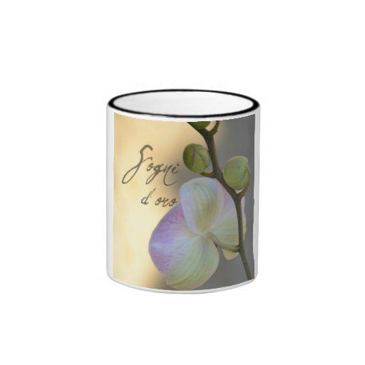Orquídea de Sogni D'oro (sueños dulces) Taza De Café