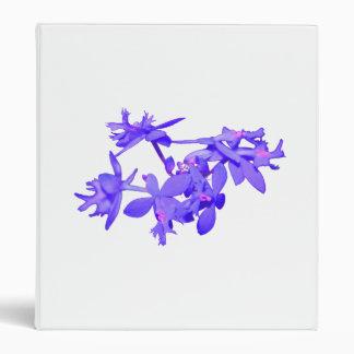 """Orquídea de tierra teñida azul de las flores carpeta 1"""""""