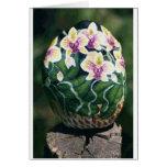 orquídea del phalf tarjeton
