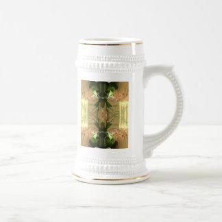 Orquídea doble jarra de cerveza