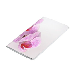 Orquídea en rosa cuadernos grapados