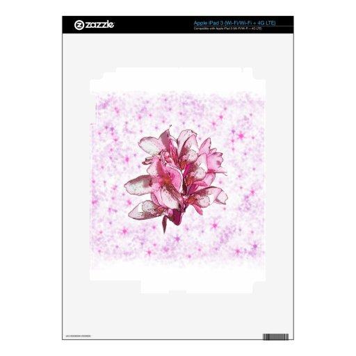 Orquídea en rosa iPad 3 skin