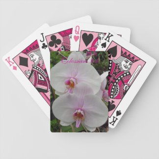 Orquídea - flor rosado (Colossians 2: 3) Barajas De Cartas
