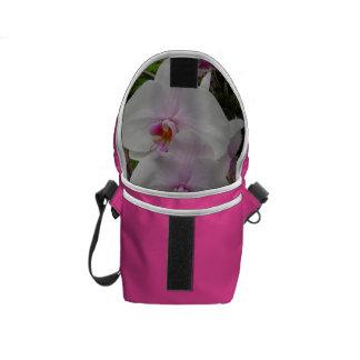 Orquídea - flor rosado (Colossians 2: 3) Bolsas De Mensajería