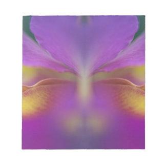 Orquídea híbrida la Florida 2 Libretas Para Notas