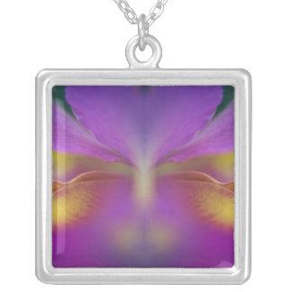 Orquídea híbrida, la Florida 2 Pendientes Personalizados
