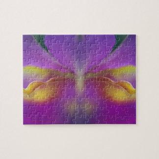Orquídea híbrida la Florida 2 Rompecabezas