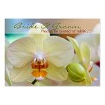 Orquídea • Huésped que asienta la mini tarjeta Tarjetas De Negocios