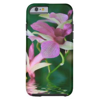 Orquídea inundada funda resistente iPhone 6