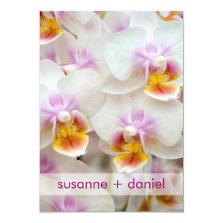 Orquídea • invitación de nupcial