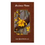 Orquídea - mañana de oro tarjetas de visita