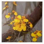 Orquídea - mañana de oro teja  ceramica