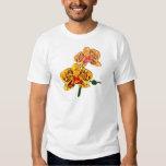 Orquídea manchada amarillo del Phalaenopsis Playeras