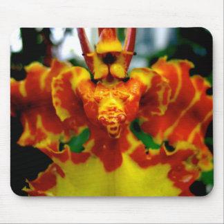 Orquídea Mousepad del Psychopsis Alfombrillas De Ratón