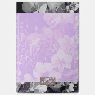 Orquídea multi púrpura de la nota pegajosa notas post-it®