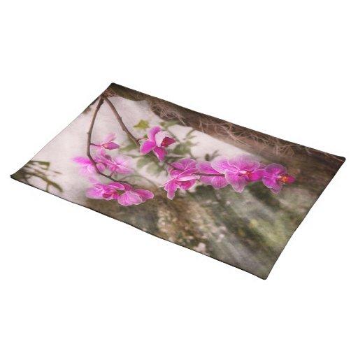 Orquídea - pasión tropical manteles individuales