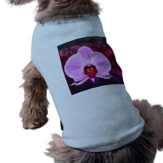 Orquídea Playera Sin Mangas Para Perro