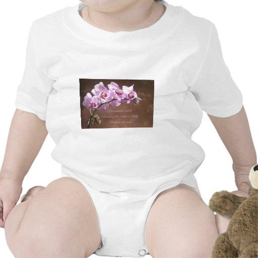 Orquídea preventiva de Meds Trajes De Bebé