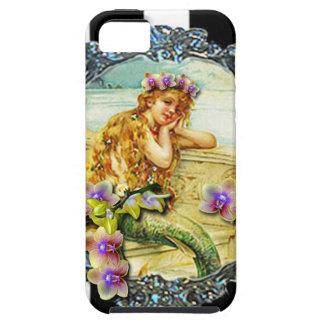 ORQUÍDEA PRINTABLE.jpg de la SIRENA iPhone 5 Case-Mate Carcasa