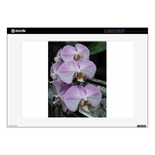 Orquídea púrpura 38,1cm portátil calcomanías