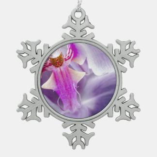 Orquídea púrpura adornos