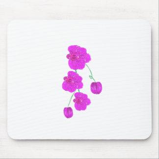 Orquídea púrpura alfombrillas de ratones