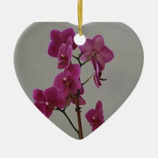 Orquídea púrpura ornaments para arbol de navidad