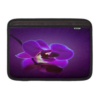 Orquídea púrpura funda  MacBook